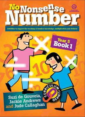 No Nonsense Number - Mult & Div: Year 5 Bk 1 (Paperback)