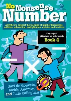 No Nonsense Number: KS 1 for Older Pupils Bk 4 (Paperback)