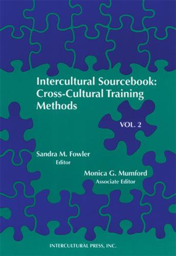 Intercultural Sourcebook Vol 2: Cross-Cultural Training Methods (Paperback)