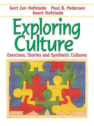 Exploring Culture: Exercises, Stories and Synthetic Cultures (Paperback)