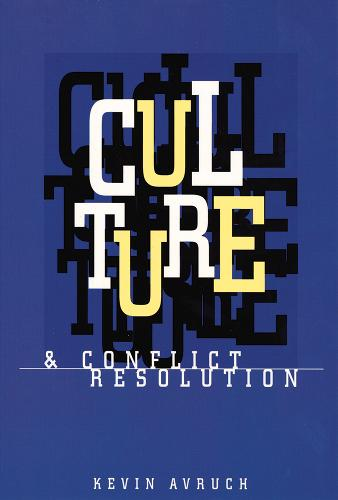 Culture and Conflict Resolution (Paperback)