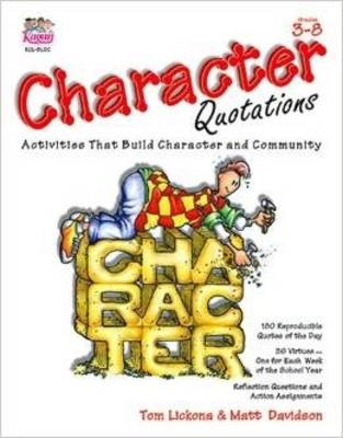 Character Quotations Grades 3-8 (Paperback)