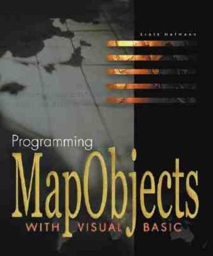 Programm.Mapobjects W/Visual (Hardback)
