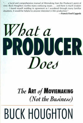 What a Producer Does (Paperback)
