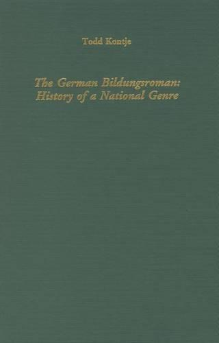 The German Bildungsroman: History of a Genre - Literary Criticism in Perspective (Hardback)