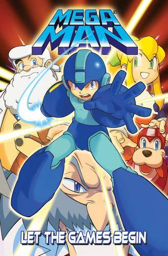 Mega Man: Let the Games Begin (Paperback)