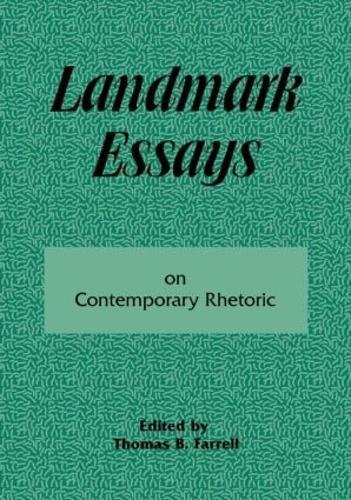 Landmark Essays on Contemporary Rhetoric: Volume 15 - Landmark Essays Series (Paperback)