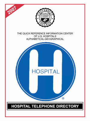 Hospital Telephone Directory, 2007 Edition (Paperback)