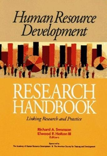 Human Resource Development Research Handbook (Paperback)