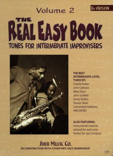 The Real Easy Book: Tunes for Intermediate Improvisers: Part 2-Bb - The Real Easy Books (Spiral bound)