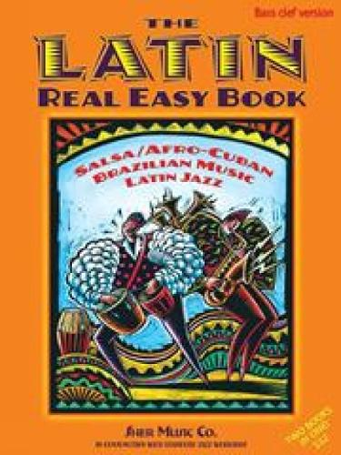 The Latin Real Easy Book (Bass Clef Version) (Spiral bound)