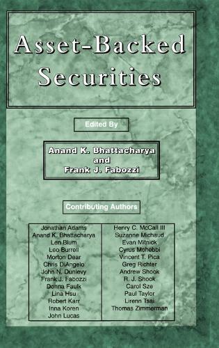 Asset-Backed Securities - Frank J. Fabozzi Series (Hardback)