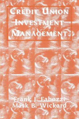 Credit Union Investment Management (Paperback)