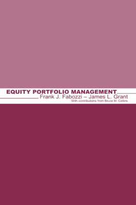 Equity Portfolio Management - Frank J. Fabozzi Series (Hardback)