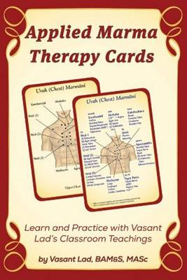 Applied Marma Therapy Cards (Paperback)