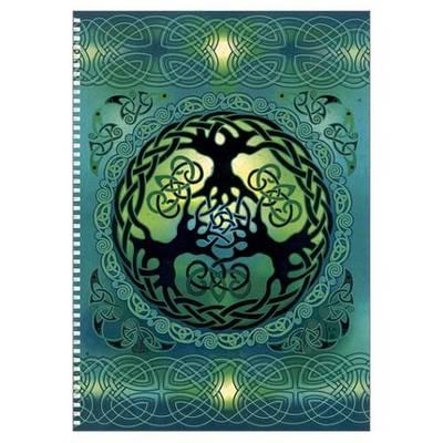 Celtic Mandala Journal (Spiral bound)