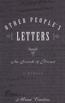 Other People's Letters: In Search of Proust (Paperback)