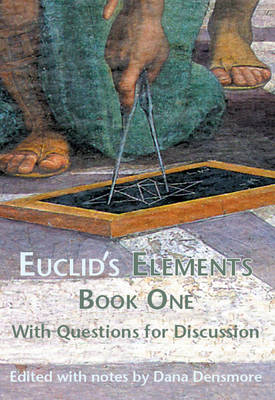 Cover Euclid's Elements Book One with Questions for Discussion