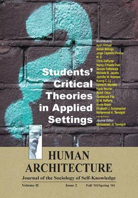 Students' Critical Theories in Applied Settings (Paperback)