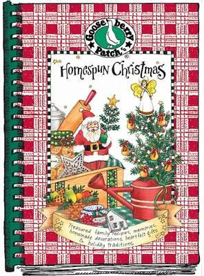 Homespun Christmas Cookbook - Seasonal Cookbook Collection (Spiral bound)