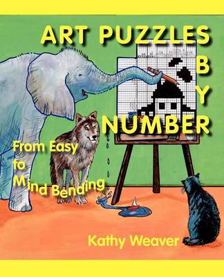 Art Puzzles by Number: From Easy to Mind Bending (Paperback)