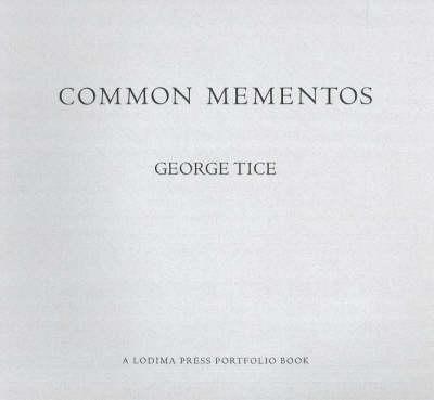 Common Mementos (Paperback)