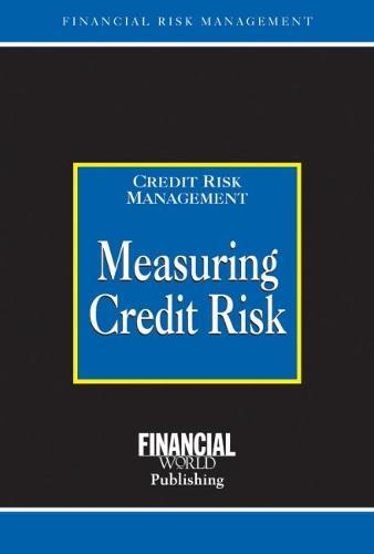 Measuring Credit Risk (Hardback)