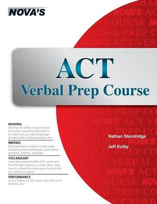 ACT Verbal Prep Course (Paperback)