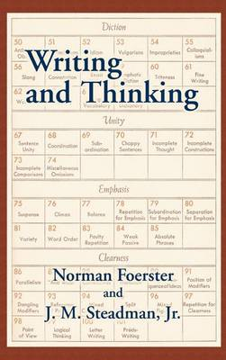 Writing and Thinking: A Handbook of Composition and Revision (Hardback)