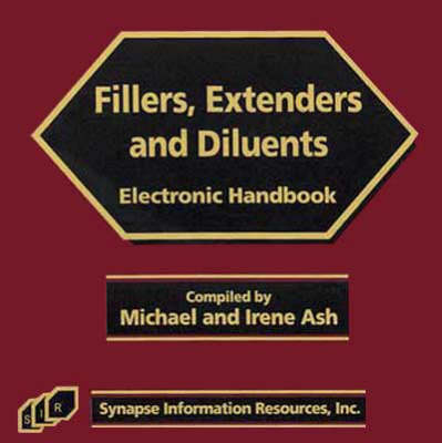Fillers Extruders and Diluents Electronic Handbook (CD-ROM)