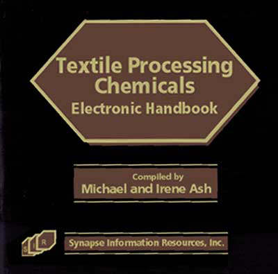 Textile Processing Chemicals Electronic Handbook (CD-ROM)