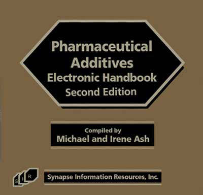 Pharmaceutical Additives Electronic Handbook (CD-ROM)