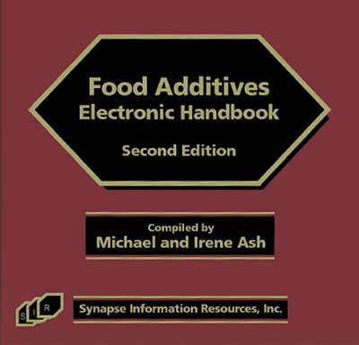 Food Additives Electronic Handbook (CD-ROM)