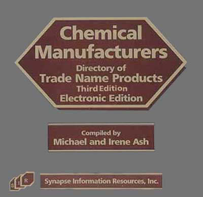 Chemical Manufacturers Directory of Trade Name Products: 5-user Network License (CD-ROM)