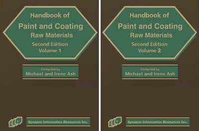 Handbook of Paint and Coating Raw Materials (Hardback)