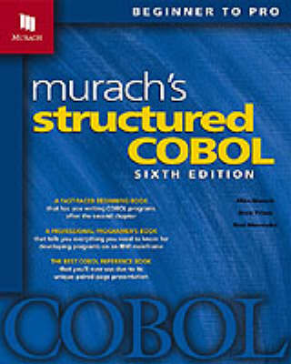 Murach's Structured Cobol: Training and Reference (Book)