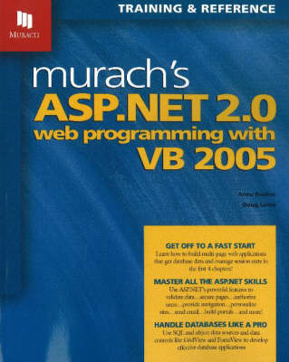 Murach's ASP.NET 2.0 Web Programming with VB 2005 (Paperback)