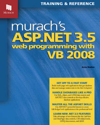 Murach's ASP.NET 3.5 Web Programming with VB 2008 (Paperback)