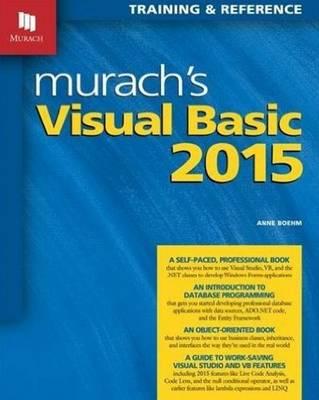 Murachs Visual Basic 2015 (Paperback)