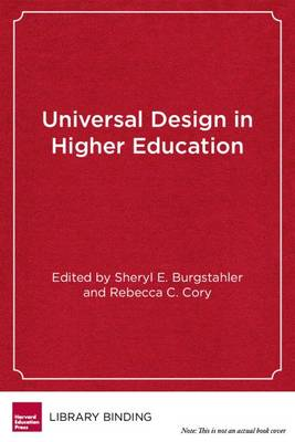 Universal Design in Higher Education: From Principles to Practice (Paperback)