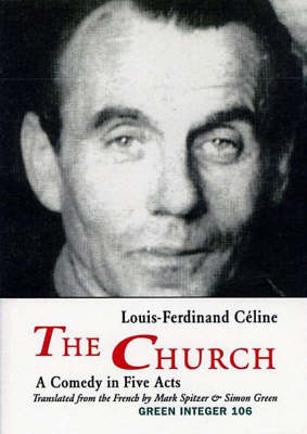The Church: A Comedy in Five Acts (Paperback)