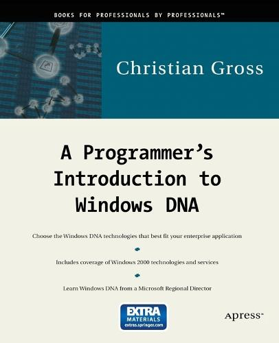 A Programmer's Introduction to Windows DNA