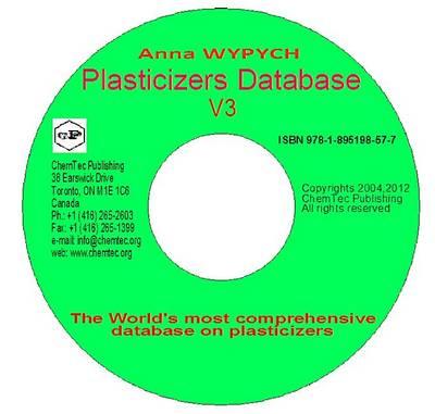 Plasticizers Database (CD-ROM)