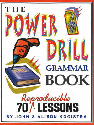 Power Drill Grammar Book: 70 Reproducible Lessons (Paperback)