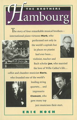 Brothers Hambourg (Paperback)