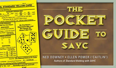 The Pocket Guide to SAYC (Spiral bound)
