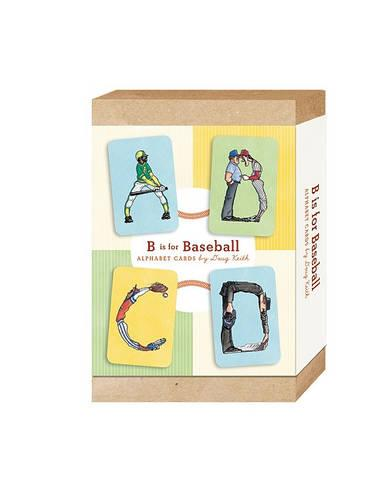 B is for Baseball: Alphabet Cards