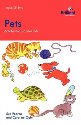 Pets: Activities for 3-5 Year Olds - Activities for 3-5 Year Olds (Paperback)