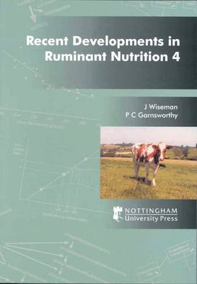 Recent Developments in Ruminant Nutrition: v. 4 (Paperback)