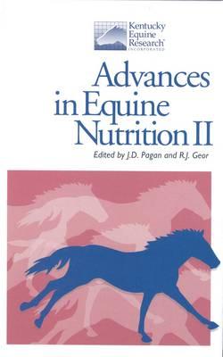 Advances in Equine Nutrition: v. 2 (Hardback)